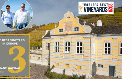 Domäne Wachau kåret til som nr 1 i Europa og nr 3 i verden i